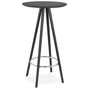 MANGE-DEBOUT Table haute / Mange-debout rond 'GALA' design en b