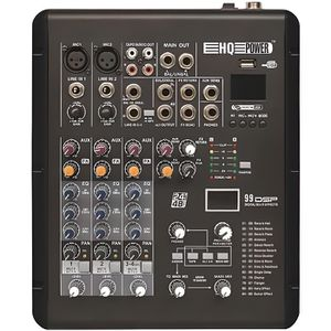 TABLE DE MIXAGE TABLE DE MIXAGE DJ MIXER STEREO 6 CANAUX 2 MIC 4 L