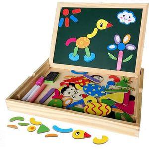 PUZZLE Irady Puzzles en Bois Magnétique Jouets Educatif a