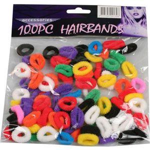10pcs Petit Élastique Cheveux en Caoutchouc Bandes Ouchless Cheveux Liens Ponytail holders
