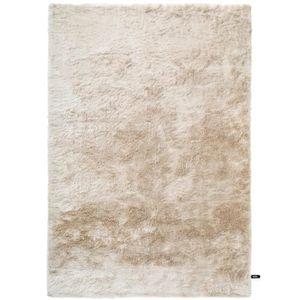 COUVERTURE - PLAID Tapis shaggy à poils longs Whisper Beige 80x150 cm
