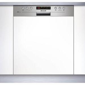 LAVE-VAISSELLE BRANDT Lave-vaisselle intégrable encastrable bande