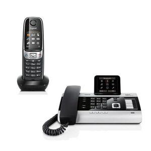 Téléphone fixe Gigaset DX800A Standard Siemens + 1 combiné C620H