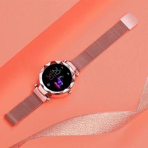 MONTRE CONNECTÉE HI18 Mme. Smart Watch Tracker Fitness | Montre int