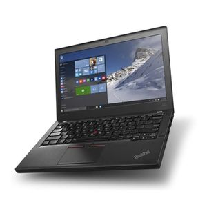 PC RECONDITIONNÉ Lenovo ThinkPad X260 - 8Go - SSD 240Go - Linux