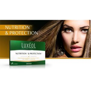 ANTI-CHUTE CHEVEUX LUXEOL nutrition & protection 30gélules