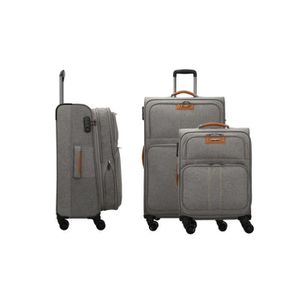 SET DE VALISES LYS - Set de 3 Valises extensible souples femme ho