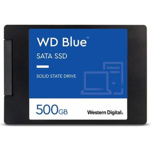 DISQUE DUR SSD WD Blue SSD - 3D Nand - Format 2.5/7mm - 500 Go
