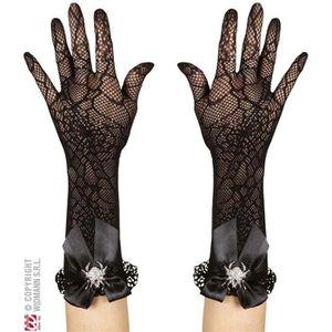 ACCESSOIRE DÉGUISEMENT Paire de gants Résilles Araignées
