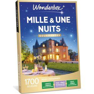 COFFRET SÉJOUR Wonderbox - Coffret cadeau en couple - MILLE ET UN