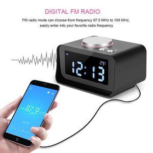 Radio réveil FM Radio-réveil LCD Réveil numérique avec fonction