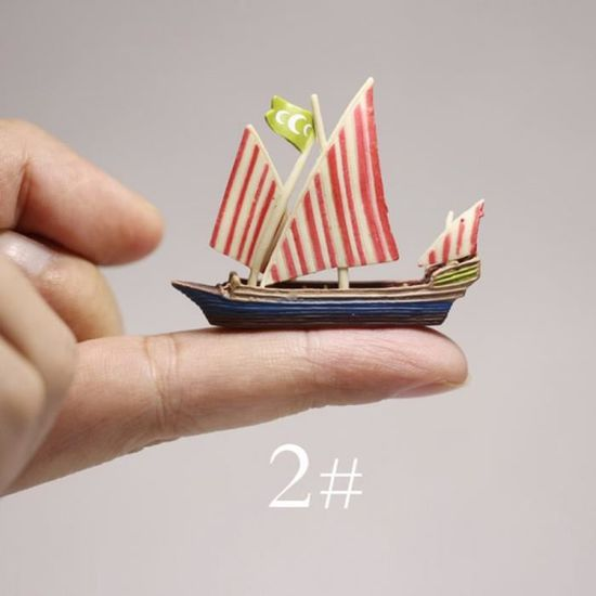 Maison Decoration 1 Ship Bateau Pirate Maison Poupee Miniatures Mignon Fee Nain Jardin Mousse Terrarium Decor Figurine Decor Achat Vente Objet Decoratif Cdiscount