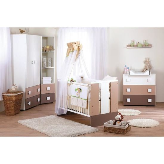Chambre Bebe Paula Complete Couleur Marketing Blanc