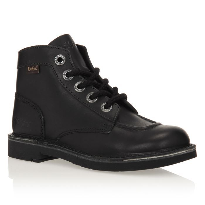 Noir (Black) Timberland Men's Wax Canvas and Deerskin Glove Chaussures Kickers Kick noires Fashion fille cyTy3pBw