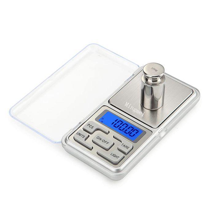 Balance électronique de balance de bijoux de précision de l'échelle 500G / 0.01G de poche pour le poids de grammes et de grammes