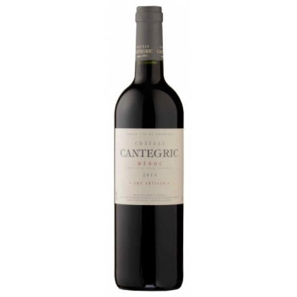 6x Château Cantegric - Médoc - Cru Artisan - Bordeaux - Rouge - Medoc - 2014