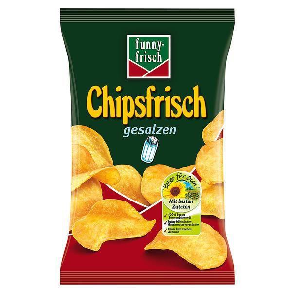 Funny Frisch Chipsfrisch Salé Chips 10 x 175g