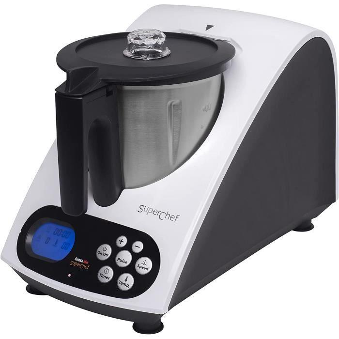 MULTIFONCTIONS Superchef cookmix – Robot de cuisine Cook & Mix va 1500 avec 11 fonctions41