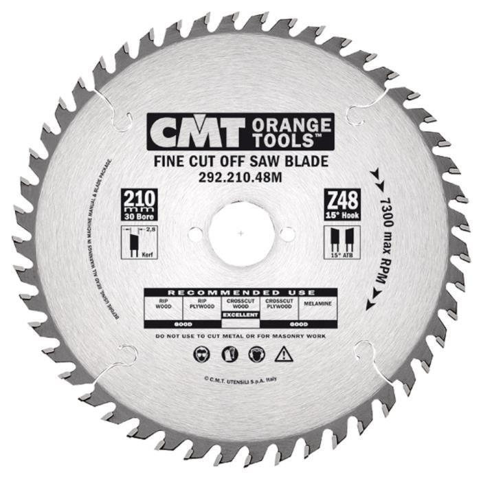 CMT : Lame carbure 160 mm 40 dents alesage 30mm