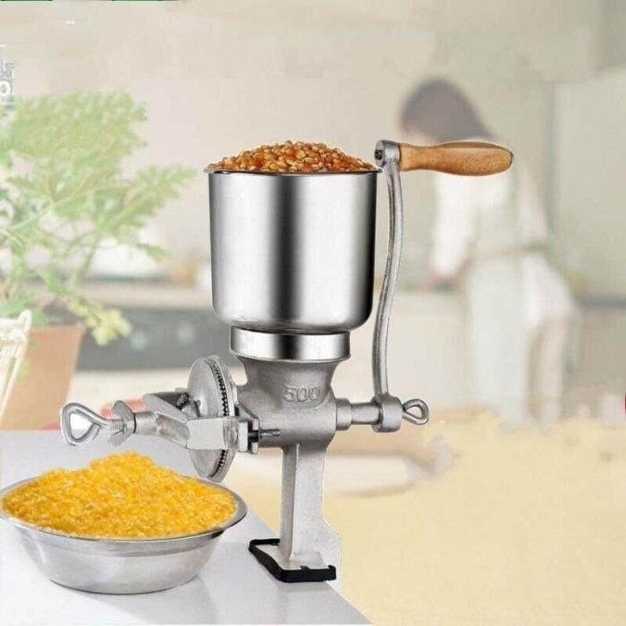 Cereales Moulin à grains Moulin à céréales manuel en fonte -QUT