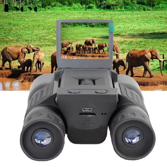 2- LCD HD 720P 12x32 Zoom Digital Jumelles Caméra vidéo Eyoyo BD318