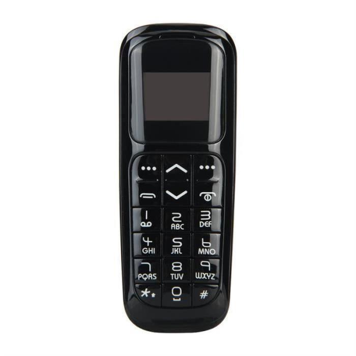 Long-CZ V2 Mini Téléphone Portable - Noir