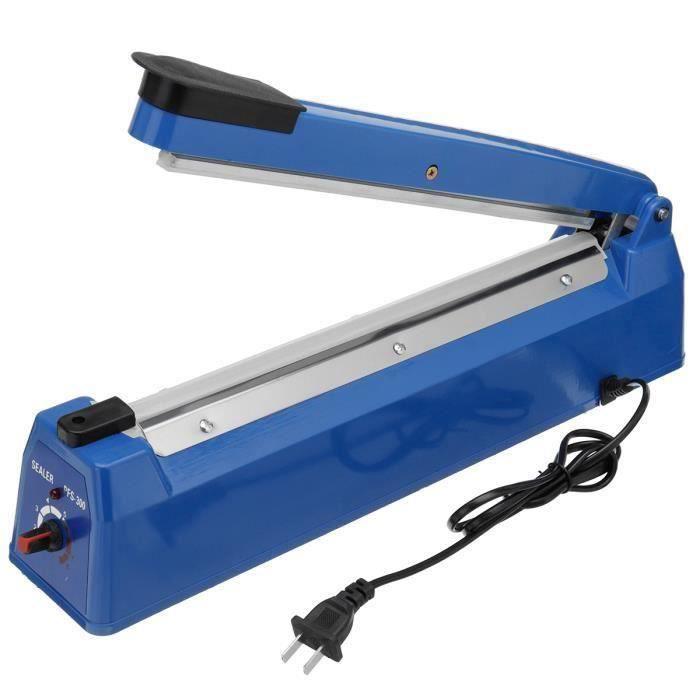 Machine Scellant Scelleuse Main Presse Alimentaire Sous Vide Emballage PRISE US 220V Largeur scellant 300MM Fes47244