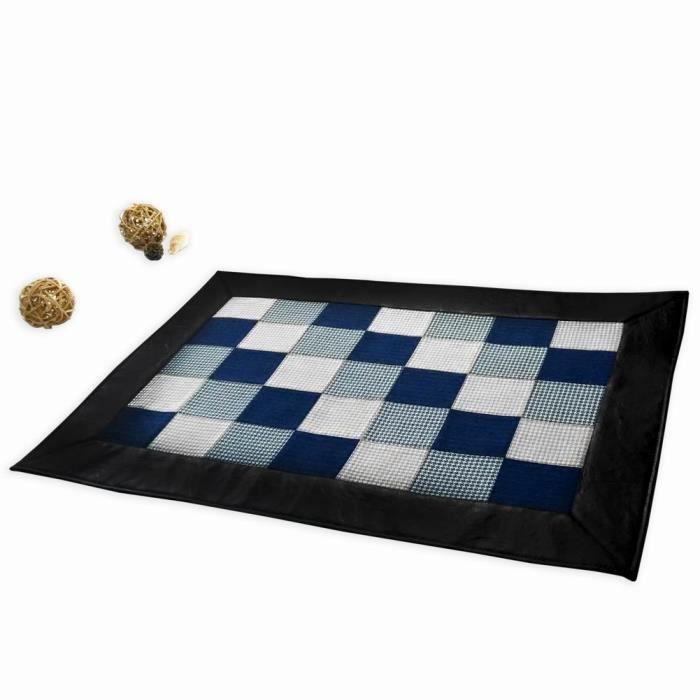Durable Indoor - Outdoor Mat Tapis Patchwork Carpettes Tapis, 35.2''*23.2''