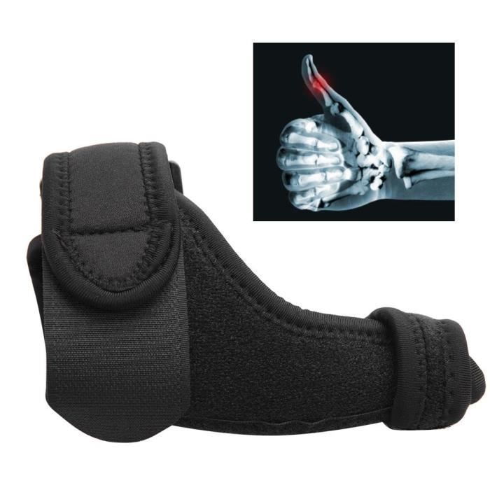 EJ.life support de pouce de poignet Attelle de pouce attelle réglable bracelet protecteur de pouce tendinite