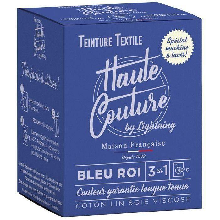 Teinture textile haute couture bleu roi 350g
