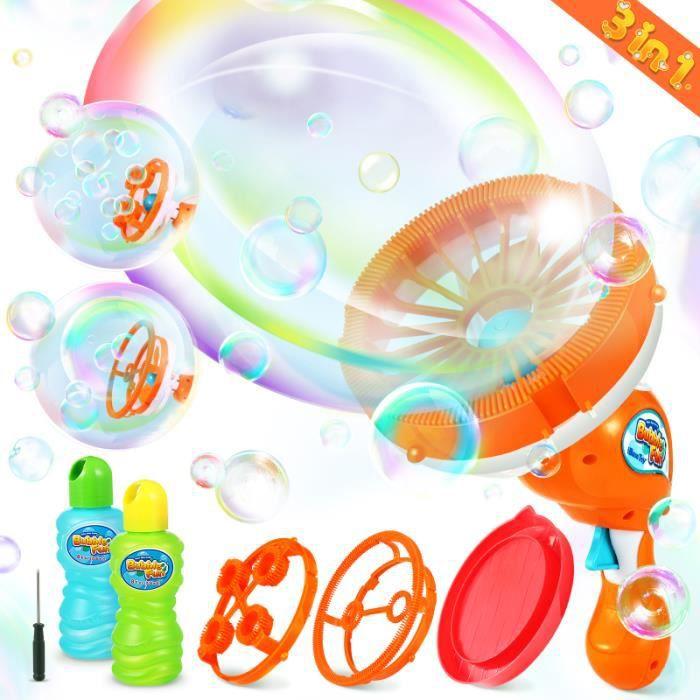 IbaseToy Intéressant Durable Cadeau Enfants Jouant Souffleur De Bulles Machine à bulles de savon jeux de recre - jeux d'exterieur