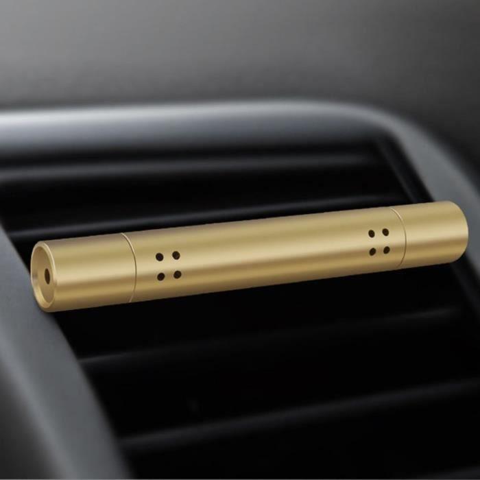 Diffuseur de ventilation automatique portatif d'agrafe de climatisation de voiture de parfum de sortie de voiture,eaux de cologne,or