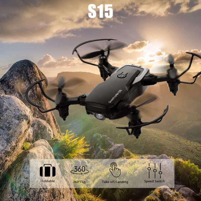 QI ZHI TOYS RC Drone S15 2.4G Headless Mode Mini Altitude Hold RC Training Quadcopter