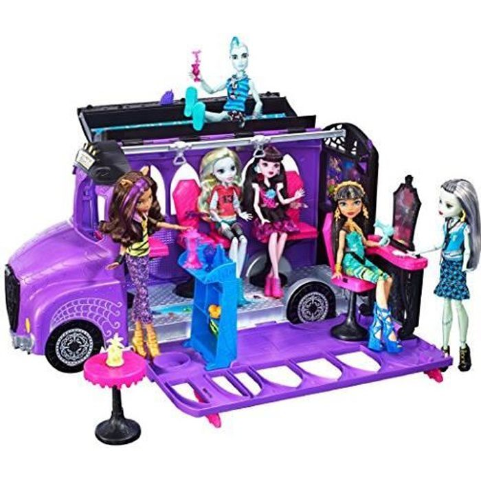 Monster High Fcv63 Deluxe Bus FCV63