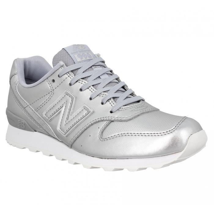 Baskets NEW BALANCE 996 metal Femme-38-Argent