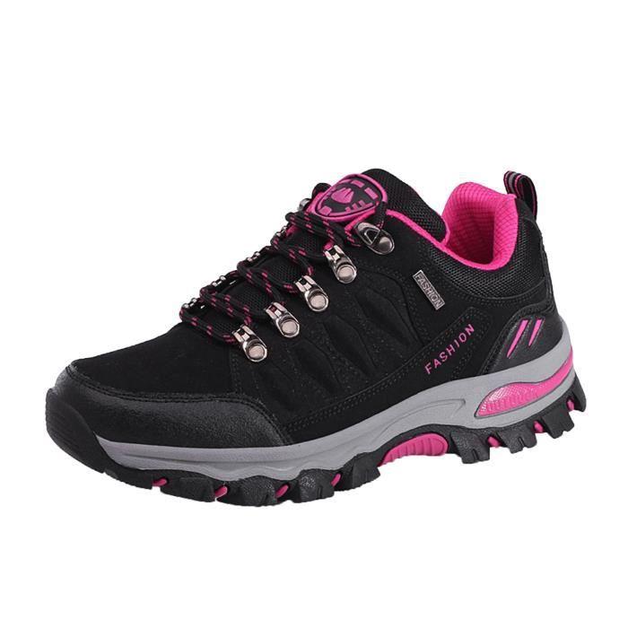 Femmes Sports de plein air Escalade Chaussures de randonnée Baskets de trekking imperméables -38