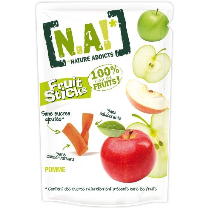 N.A Fruit Sticks Doypack de Pomme - 40 g