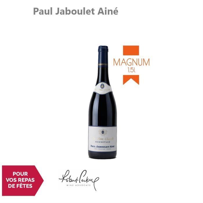 Hermitage Magnum La Petite Chapelle Rouge 2013 - 150cl - Paul Jaboulet Ainé - Vin AOC Rouge de la Vallée du Rhône - 91-100 Robert