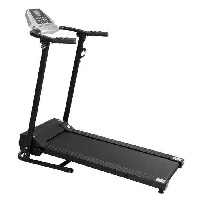 Tapis Roulant Électrique Portable - 1-10km/h-écran LCD-1.5HP- Charge maximale100kg -Dortoir Home Gym