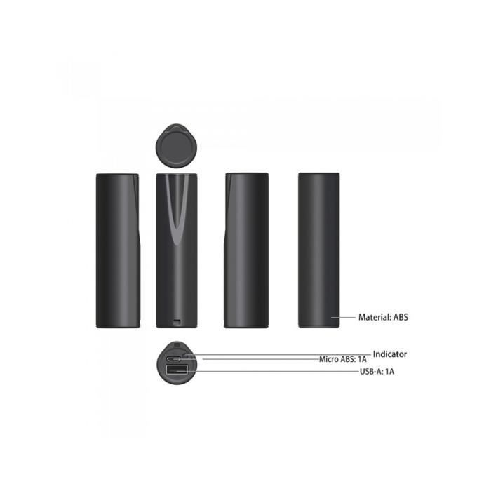 Batterie de secours WE 3 350 mAh Noir