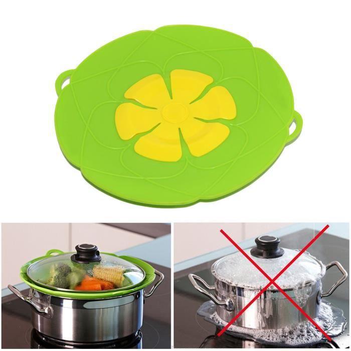 Multi-Purpose couvercle silicone pot couvercle et anti-débordement Cuisine Cuisson Outils