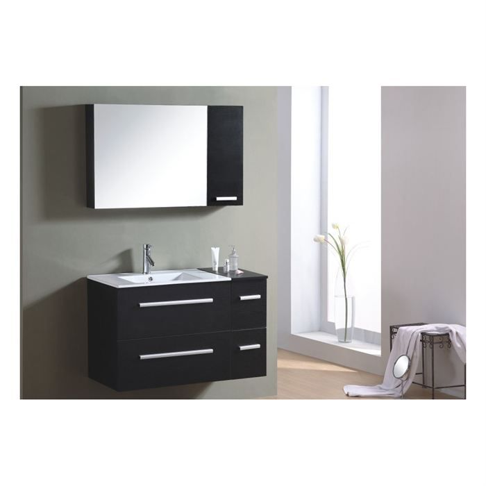 meuble de salle bain new york achat vente meuble. Black Bedroom Furniture Sets. Home Design Ideas