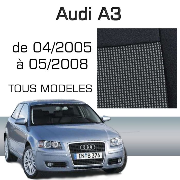 housse sur mesure audi a3 04 05 05 08 achat vente housse de si ge housse sur mesure audi. Black Bedroom Furniture Sets. Home Design Ideas