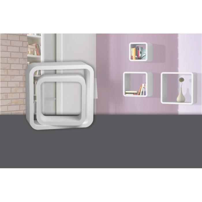 de 2 cm de profondeur x 40 cm CARTON 30 cm40 cube Colinpolystyrène blanc x 7x pièces30 Decosa 15 Etagère Kit KcuJl3TF1