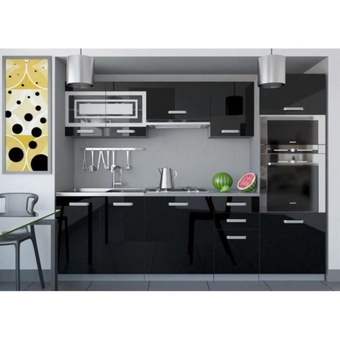 justhome paula i cuisine quip e compl te 240 cm couleur. Black Bedroom Furniture Sets. Home Design Ideas