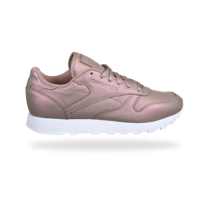 Genre Cl Reebok Couleur Adulte Taille Age Rose Basket Pearlized Femme Lthr 37 Raw7Sx6xq