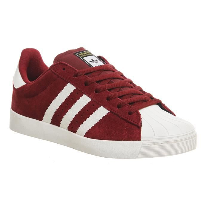 Superstar 06713 Adidas Vulc Real Adv Rouge 6347e tsQrdCh