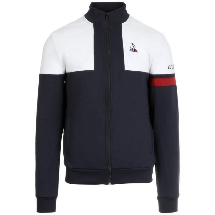 Veste Le Coq Sportif Tricolore Full Zip Sweat