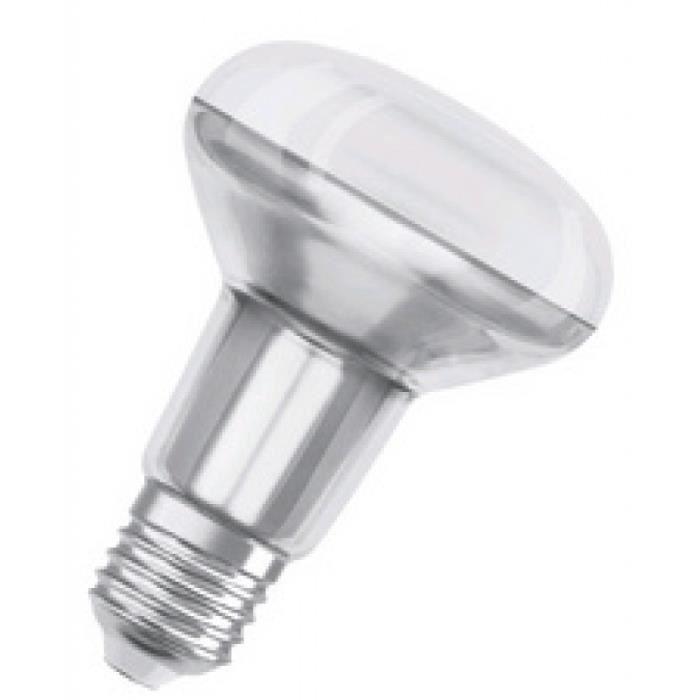 ampoule incandescente reflecteur R80 60W E27 mat