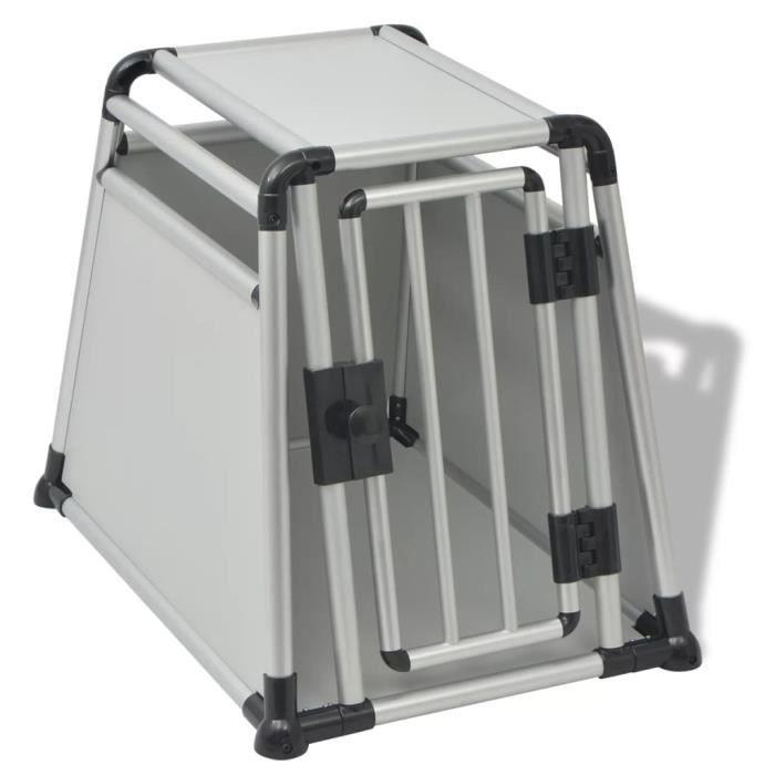 CAISSE DE TRANSPORT Boîte de transport Cage de transport pour chiens A